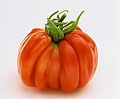 An irregular shaped tomato