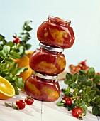 Rose hip and orange jam