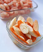 Surimi (formed fish product)