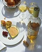 Foie gras de canard (Duck liver pâté, France)