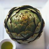 Artichoke with vinaigrette