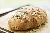 Onion bread with rosemary