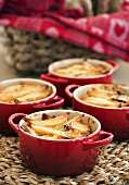 Potato gratin in small dishes