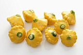 Baby patty pan squashes