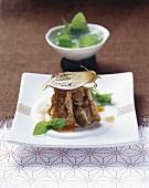 Auberginensalat mit Joghurt