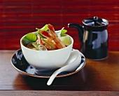 Shrimp soup (Thailand)
