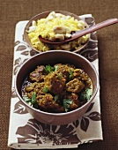 Lamb Vindaloo (Spicy lamb curry, India)