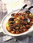 Pork and shellfish ragout (Portugal)