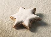 A cinnamon star