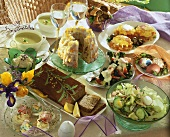 Vegetarian Easter dishes