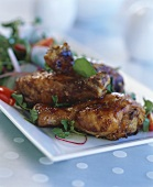 Chicken legs with Hoisin sauce