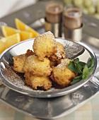 Frittelle dolci di ricotta (Deep-fried ricotta balls)
