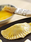 Chard and pine nut pasties