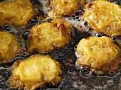 Piccata milanese (Deep-fried Parmesan escalopes)