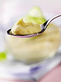 Baby food: potato, cucumber and turkey dinner