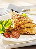 Pikante Tomaten-Pfannkuchen