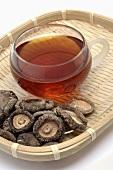 Shiitake tea