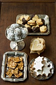 Assorted biscuits and sweets for Christmas