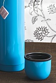 Thermos flask of Earl Grey tea