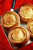 Yorkshire puddings on a platter