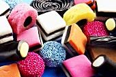 Liquorice sweets (Liquorice Allsorts)