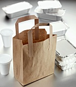 Take-away food packaging