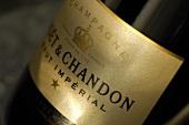 A bottle of 'Moët & Chandon' Brut Impérial Champagne
