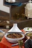 Lamb tagine with couscous and mint yoghurt (Morocco)