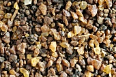 Myrrh (resin from trees of the genus Commiphora), coarse