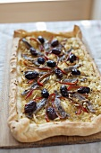 Pissaladière (Onion and anchovy tart,  Nice)