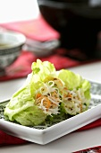 Fresh spring roll with vegetables