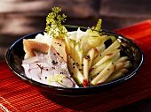 Herring salad with apple