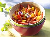 Strawberry and nectarine salad