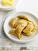 Olive and cheese pasties