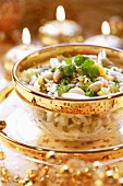 Bean and anchovy salad