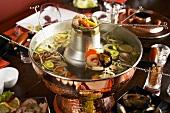 Chinese fondue (Hot pot)