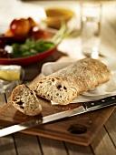 Pane con le olive (olive bread), Puglia, Italy