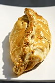 Cornish pasty (pastry case with meat and potato filling)
