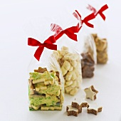 Biscuits in bags to give as gifts