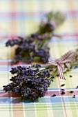 Two bunches of lavender