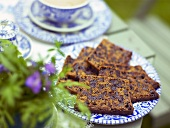 Fruit cake to serve with tea