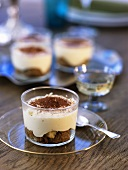 Tiramisu in glasses (in layers)