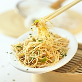 Glass noodles with crabmeat
