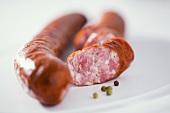 Smoked pork sausage