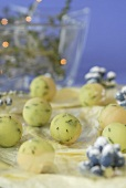 Marzipan potatoes with thyme for Christmas
