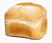 A whole white tin loaf