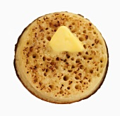 Crumpet with butter
