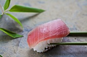 Nigiri sushi with 'toro' (tuna), Japan