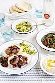 Menü zu Yom Ha'atzmaut (Nationalfeiertag, Israel)