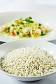 Arborio rice and risotto